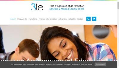 Site internet de 3 IE