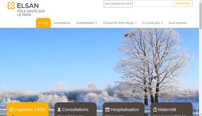 Site internet de Clinique du Tertre Rouge