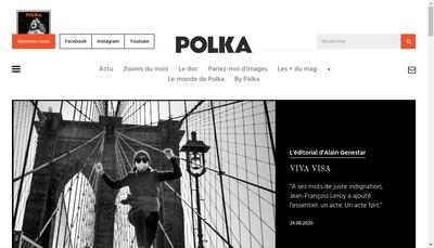 Site internet de Polka Image
