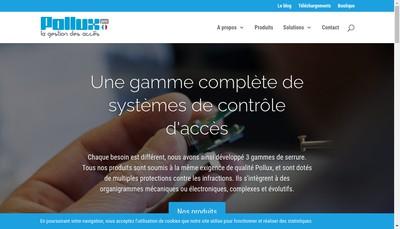 Site internet de Pollux