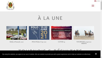 Site internet de La Ferme d'Apremont SA
