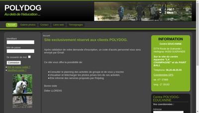 Site internet de Educanine