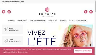 Site internet de Gpt Commercants Centre Comme Reg Polygone
