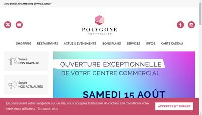 Site internet de SNC Societe du Parking du Polygone