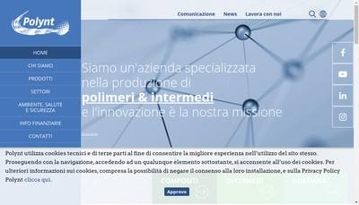 Site internet de Polynt Composites France