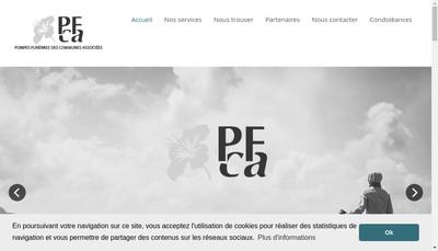 Site internet de Pfca