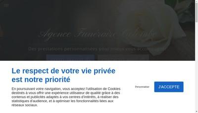 Site internet de Pompes Funebres de Bouc Bel Air