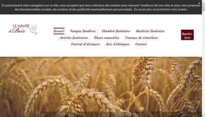 Site internet de Le Havre de Paix