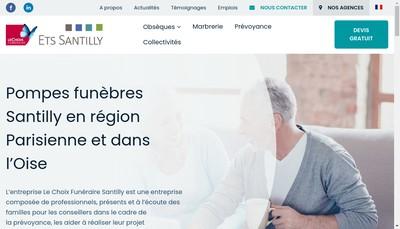 Site internet de Alliance Funeraire