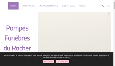 Site internet de Pf du Rocher