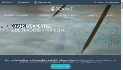Site internet de Le Champlain