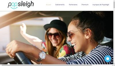 Site internet de Popsleigh