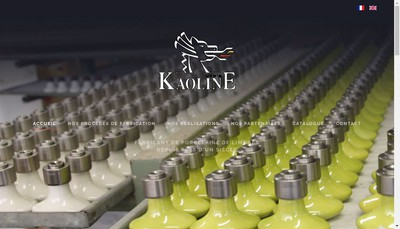 Site internet de Kaoline Ucd'a