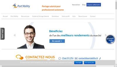 Site internet de Port' Ability