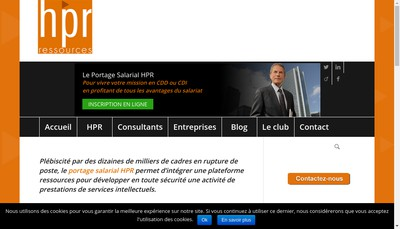 Site internet de HPR Ressources