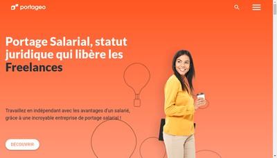 Site internet de PORTAGEO