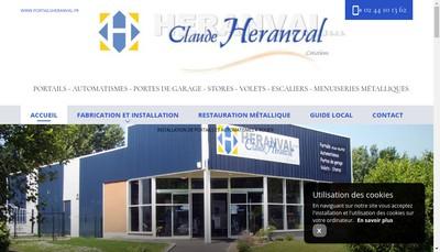 Site internet de Claude Heranval