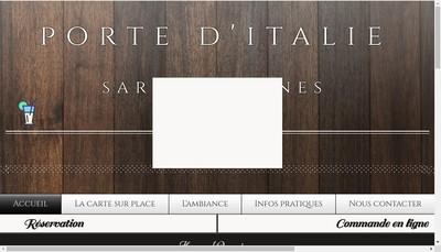 Site internet de Porte d'Italie