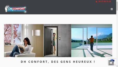 Site internet de Dh Confort- la Fenetre Unique - le Volet Unique