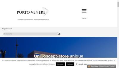 Site internet de Porto Venere - Carrelage Usine Center