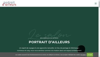 Site internet de Portrait d'Ailleurs