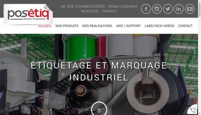 Site internet de Pos'Etiq
