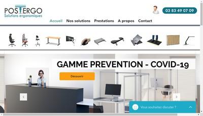 Site internet de Postergo