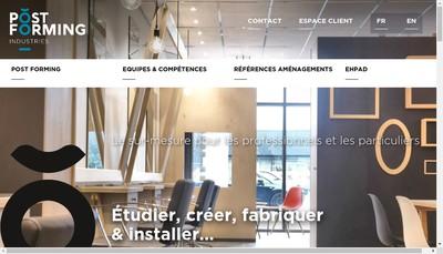 Site internet de Postforming Industries