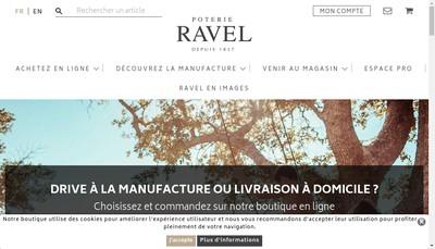 Site internet de Ravel Decroix et Fils
