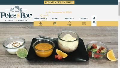Site internet de Potes & Boc