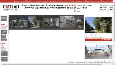 Site internet de SARL Cabinet Potier