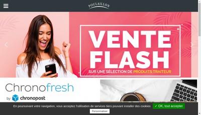 Site internet de Au Moulin Poulailllon