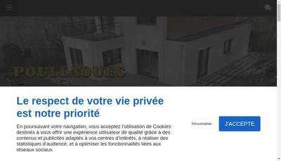 Site internet de Poullaouec Freres