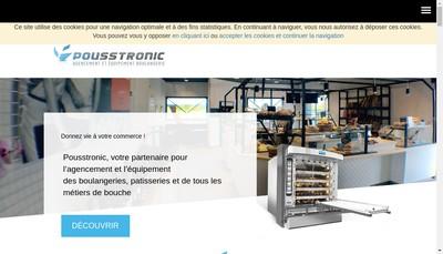Site internet de Pousstronic France
