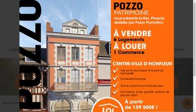 Site internet de Pozzo Immobilier