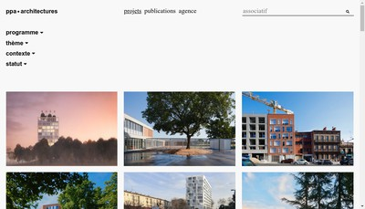 Site internet de SAS Puig-Pujol et Associes Architectures
