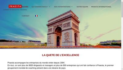Site internet de Praesta France