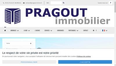Site internet de Oradour Imm Limousin Prop Jmp Conseil