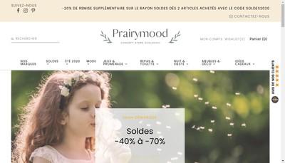 Site internet de Prairymood
