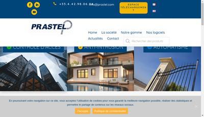 Site internet de Prastel France