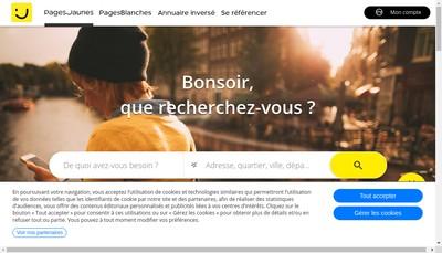Site internet de Sous le Preau
