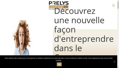 Site internet de Prelys Courtage
