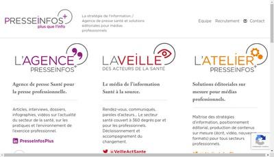 Site internet de Presse Infos Plus