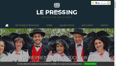 Site internet de Le Pressing