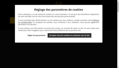 Site internet de Prestige Way