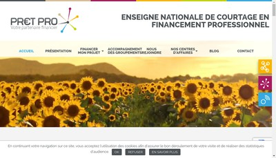 Site internet de Broker France Nantes
