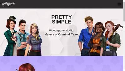 Site internet de Pretty Simple