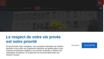 Site internet de Laser Aventure