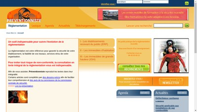 Site internet de Preventionniste Solutions
