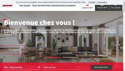 Site internet de Prim'Arte